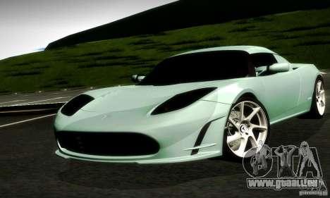 Tesla Roadster Sport pour GTA San Andreas laissé vue