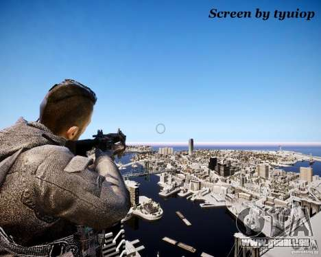Modern Warfare 3 Soap Europe pour GTA 4 secondes d'écran