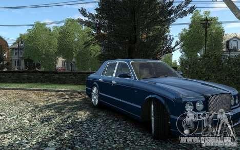Bentley Arnage T für GTA 4 rechte Ansicht