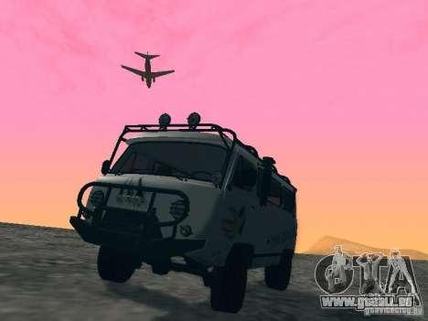 UAZ 2206 für GTA San Andreas Räder
