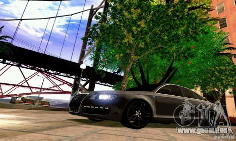 Audi A6 Blackstar pour GTA San Andreas salon