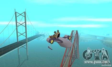 Flying Fish pour GTA San Andreas vue intérieure