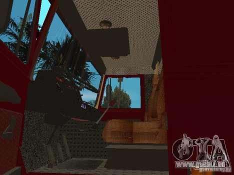 MAZ 642208 pour GTA San Andreas vue arrière
