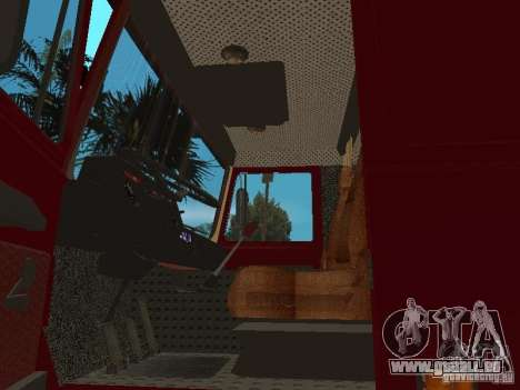 MAZ 642208 für GTA San Andreas Rückansicht