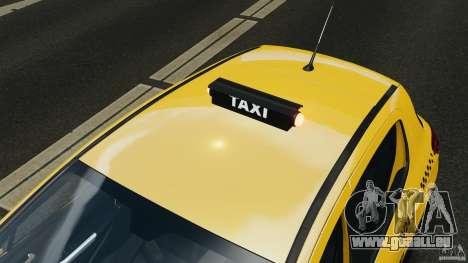 Peugeot 308 GTi 2011 Taxi v1.1 für GTA 4