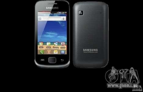 Samsung Galaxy Gio pour GTA San Andreas