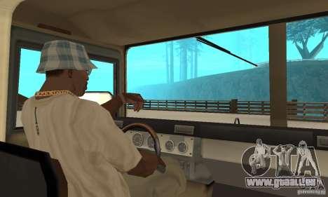 Hummer H1 pour GTA San Andreas vue de droite