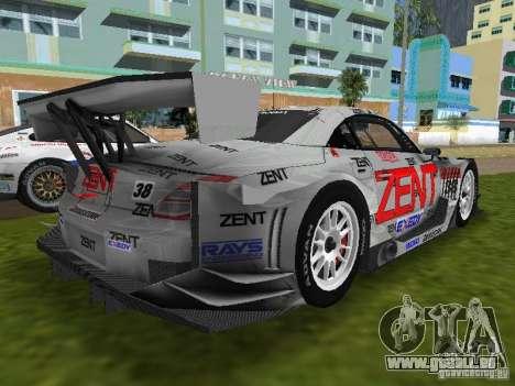 Lexus SC430 GT pour GTA Vice City sur la vue arrière gauche