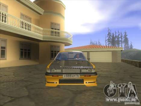 Mazda 626 DRIFT pour GTA San Andreas vue arrière