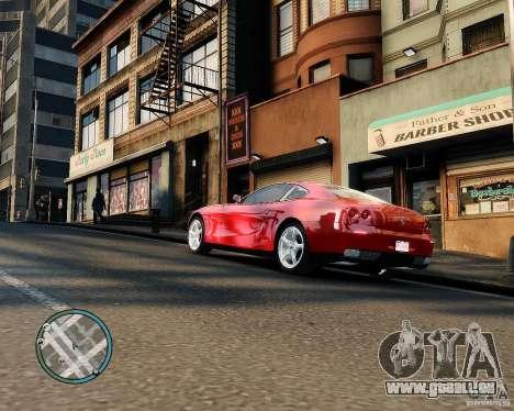 Ferrari 612 Scaglietti pour GTA 4 est un droit