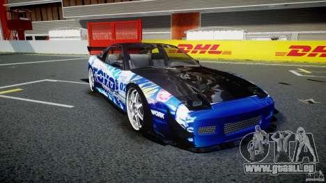Nissan 240sx Toyo Kawabata pour GTA 4 est une vue de l'intérieur