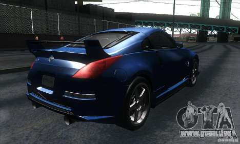 Nissan 350Z Varis für GTA San Andreas rechten Ansicht
