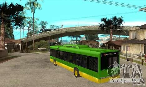 Solaris Urbino 11 für GTA San Andreas zurück linke Ansicht