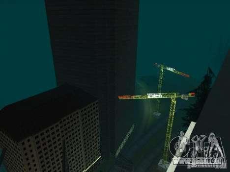 Nouvelle ville v1 pour GTA San Andreas huitième écran