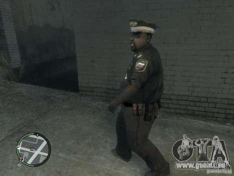 Russian Cops pour GTA 4 troisième écran