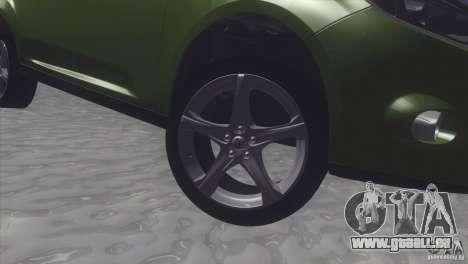 Ford Focus sedan pour GTA San Andreas vue de droite
