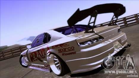 Nissan 150SX Drift pour GTA San Andreas vue arrière