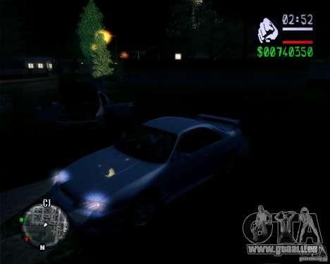 New Fonts 2011 pour GTA San Andreas troisième écran
