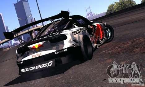 Mazda RX-7 Mad Mike für GTA San Andreas rechten Ansicht