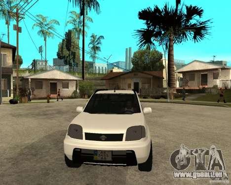 NISSAN X-TRAIL 2001 pour GTA San Andreas vue arrière