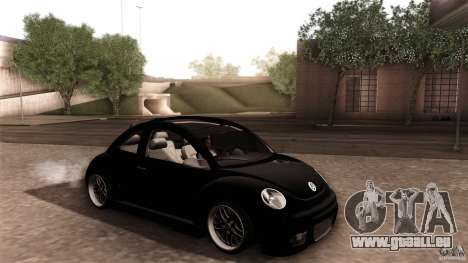 Volkswagen Beetle RSi Tuned für GTA San Andreas Räder