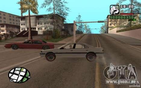 Peugeot 406 Persia pour GTA San Andreas vue arrière