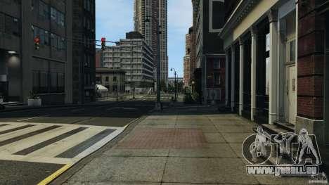 Ville vide pour GTA 4 troisième écran