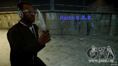 B.A.K. Knife pour GTA 4