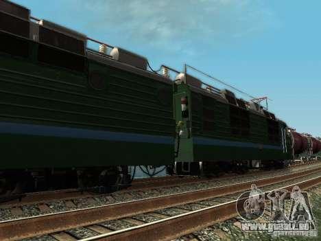 Vl80s-2532 pour GTA San Andreas sur la vue arrière gauche