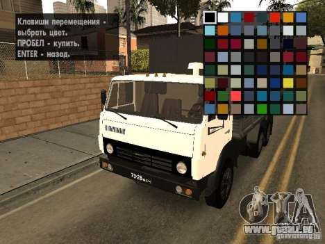 New Carcols by CR v3.0 pour GTA San Andreas