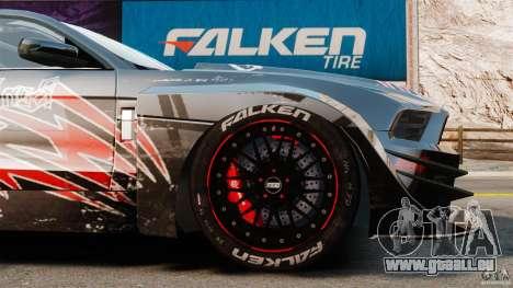Ford Mustang 2010 GT1 pour GTA 4 est un côté