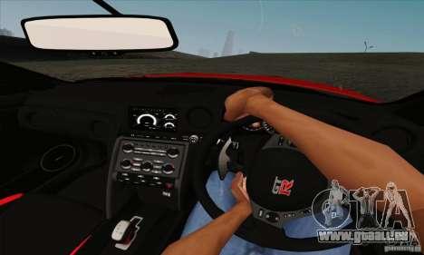 Nissan GT-R R-35 2012 für GTA San Andreas Rückansicht