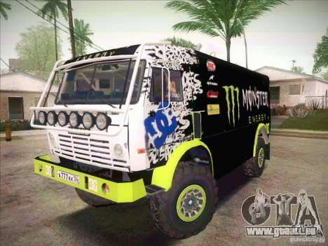 Master de KAMAZ 4911 Monster Energy pour GTA San Andreas