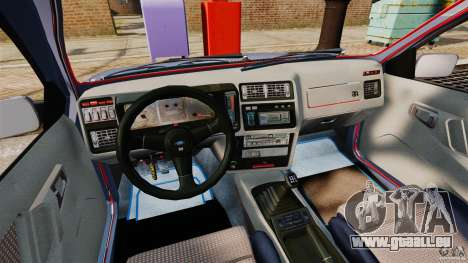 Ford Sierra RS500 Cosworth 1987 pour GTA 4 Vue arrière