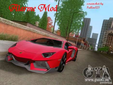 Alarme Mod v3.0 pour GTA San Andreas