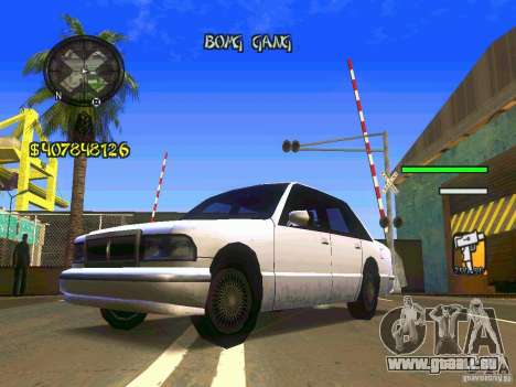 HUD Convenient and easy BETA für GTA San Andreas