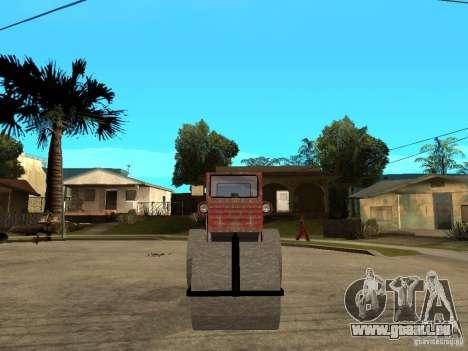 Cilindru Compactor für GTA San Andreas rechten Ansicht