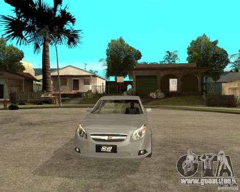 Cheverolet Epica pour GTA San Andreas vue arrière