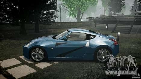 Nissan 370Z Coupe 2010 für GTA 4 linke Ansicht