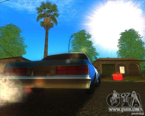 Chevrolet Caprice Classic 1986 NYPD pour GTA San Andreas vue de droite