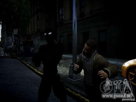 Spider Man Black Suit pour GTA 4 troisième écran