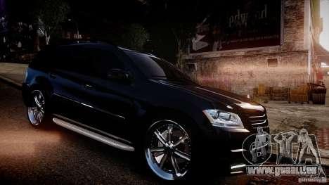 Mercedes-Benz GL450 Brabus Black Edition pour GTA 4 Vue arrière