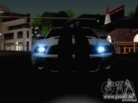 New Car Lights Effect für GTA San Andreas sechsten Screenshot