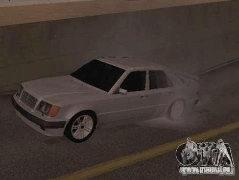 Mercedes-Benz E500 Taxi 1 für GTA San Andreas linke Ansicht