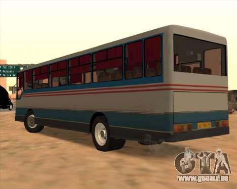 Autosan H10-11.11B pour GTA San Andreas sur la vue arrière gauche