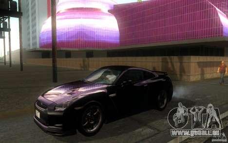 Nissan GTR R35 Spec-V 2010 für GTA San Andreas linke Ansicht