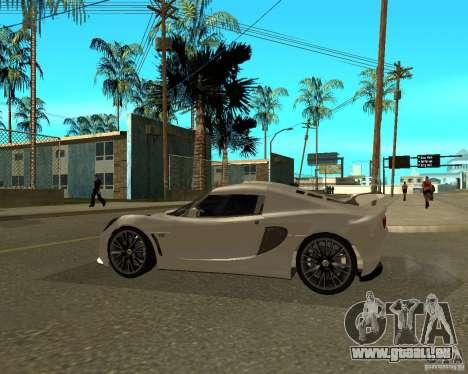 Lotus Exige pour GTA San Andreas laissé vue