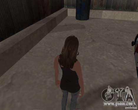 Tony Hawks Emily pour GTA San Andreas cinquième écran