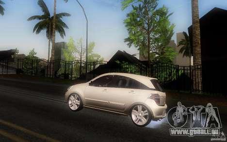 Chevrolet Agile 2012 für GTA San Andreas linke Ansicht