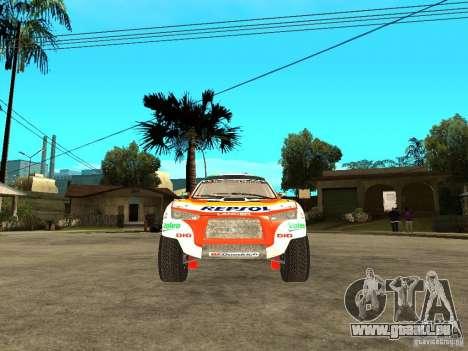 Mitsubishi Racing Lancer from DIRT 2 pour GTA San Andreas vue de droite